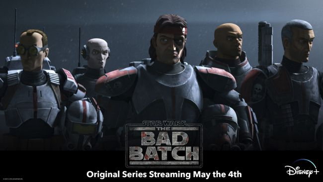 Star Wars: The Bad Batch (Disney+), ensitunnelmat