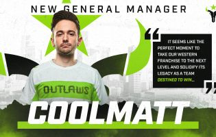 Houston Outlaws rekrytoi Coolmattin General Manageriksi