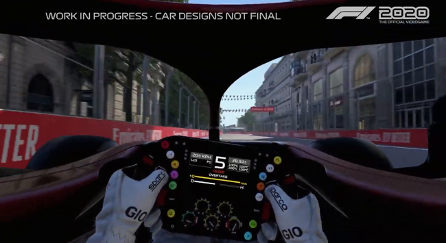 Check out F1 2020's Baku City Circuit in new hotlap trailer